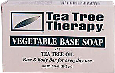 Vegetable Based Soap, Tea Tree Therapy, 3.9 oz