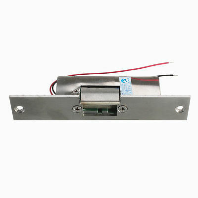 Door Electric Strike Lock Fail Secure NO Narrow-type Electronic Control 12V DC