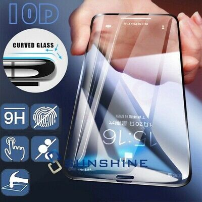 For Samsung Galaxy S6/S7 Edge/+ Full Cover Tempered Glass Screen Protector 3D