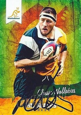 ✺Signed✺ 2016 WALLABIES Card PHIL KEARNS