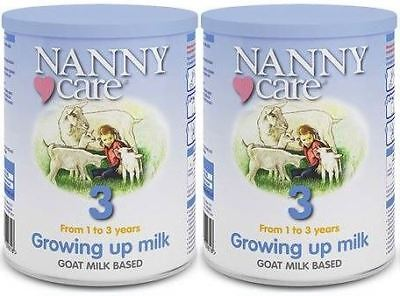 NANNYCare Stage 3 Growing Up Milk - 400g (Pack of 2)