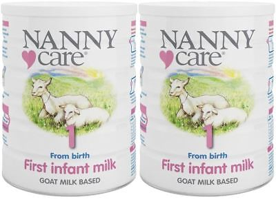 NANNYCare Stage 1 First Infant Milk - 900g (Pack of 2)