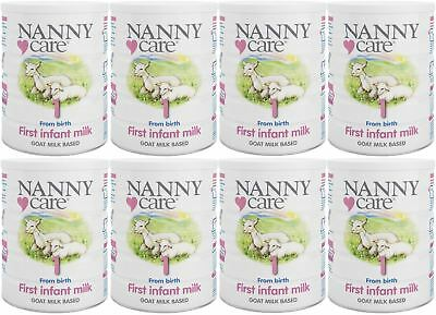 NANNYCare Stage 1 First Infant Milk - 900g (Pack of 8)
