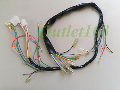 Honda 125 CB125S S1 S2 CL125S Main Wire Wiring Harness Loom Cabling Assembly 6V