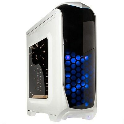 Kolink Aviator White Midi Tower Gaming Case - USB 3.0
