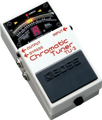 Boss Tu-3 Chromatic Pedal Tuner. Shipping is Free