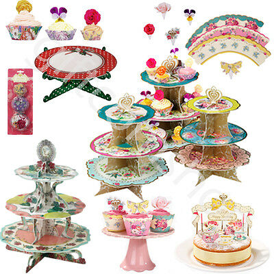 New Truly Scrumptious Vintage Style Cake Stands Tea Party Accessories Tableware