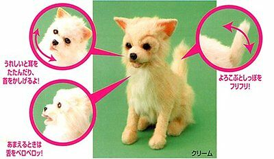NEW Dream dog Chihuahua (cream) Airmail from JAPAN