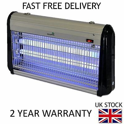 Vermatik 30W Electric Fly Insect Bug Killer UV Light Fly Control Zapper