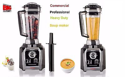 Nutri Commercial. Blender. 2L/Hot Soup Maker/Smoothie/Juicer.Ice/2000W