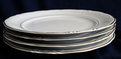 Royal Kent Collection Set Of 4 Dinner Plates  Made In Poland