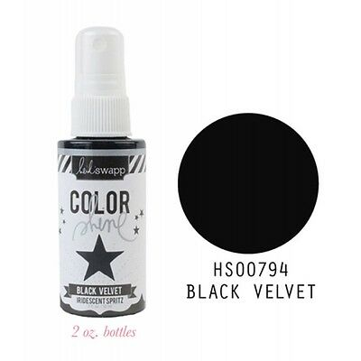Heidi Swapp - Color Shine - Black - 59 ml Farbspray
