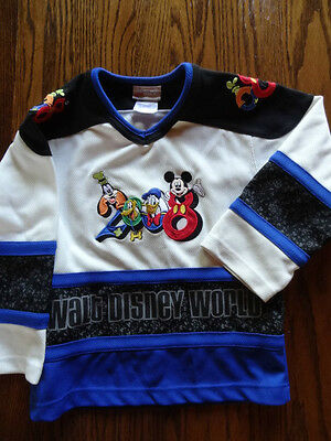 Disney Hockey Jersey 2008- Excellent Condition/All Embroidered size small