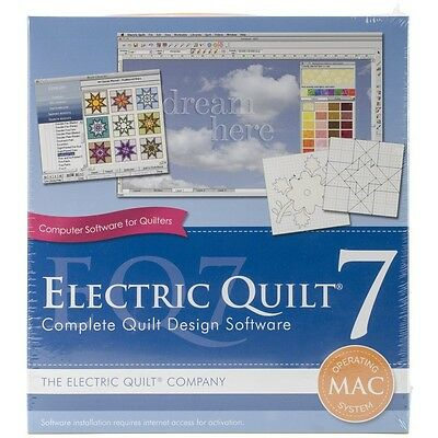 Electric Quilt 7 For MAC. Free Delivery