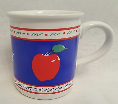 #1 Teacher Apple Stoneware  Mug Designers Collection American Greetings