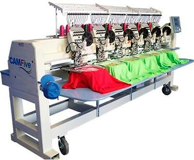 CAMFive CFHS-CT1506 15 color cap & flat Embroidery Machine large embroidery area