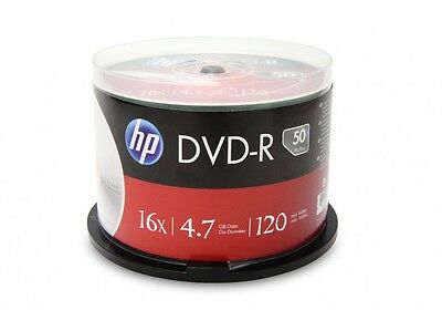 CHOICE of GENUINE HP DVD-R Discs, Choose your Quantity, 16x 4.7GB, 1 5 10 25 50