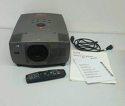 Eiki Lc-Xg200 Video Projector With Remote And Manual Vga Component