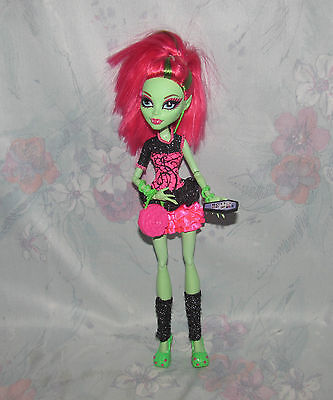 Monster High Venus McFlytrap Loose Doll - Ghouls Night Out - Outfit/Dress, Shoes