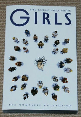 """Girls"" The Complete Collection TPB The Luna Brothers ""Brand New"""