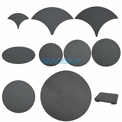 Drum Practice Mute Pads Sound off Drum Mute Silencer Kit Snares Cymbal Mutes Pad