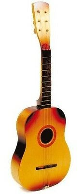 Childrens Wooden Guitar - Great Musical Toy Instrument. Shipping is Free