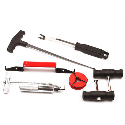 New Auto 7 Pcs Windshield Removal Tool Kit Set Complete Car Window Glass Remover