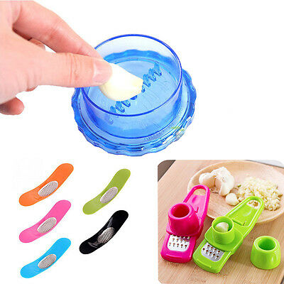 Novelty Multi-functional Grinding Kitchen Garlic Press Cooking Tools