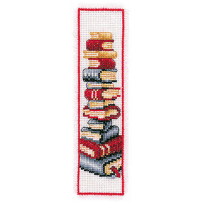 Books : Vervaco Counted Cross Stitch Kit : Bookmark -  200217.522