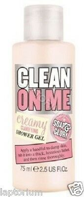 Soap & Glory Travel Size Clean On Me Body Wash 75ml Mini