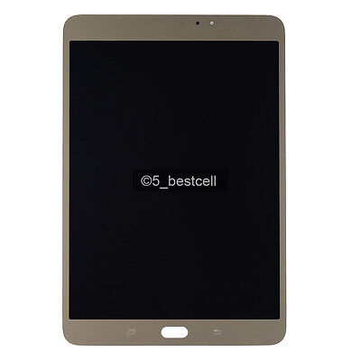 """Gold Samsung Galaxy 8.0"""" Tab S2 T710 LCD Display+Touch Digitiser Assembly wifi"""