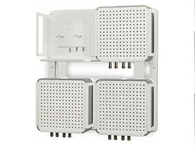 Flexson SONOS CONNECT:AMP 4 Way Wall Mount for up to 4 Connect:AMPs in White