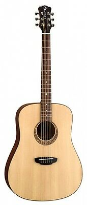 Luna Gypsy Muse Acoustic Guitar, with Hardshell Case. Delivery is Free
