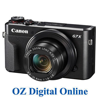 NEW Canon PowerShot G7 X II Mark 2 Camera G7X 20.1MP Full HD Wifi NFC 1 YrAuWty