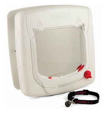 PSF-PPA00-11324 PetSafe Staywell Magnetic 4-Way Locking Cat Flap