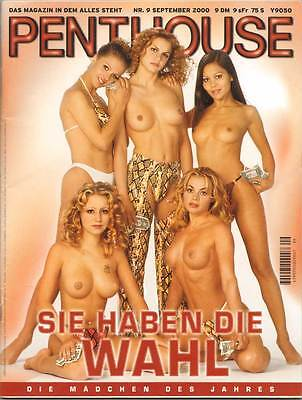 PENTHOUSE 2000/09 [September 9/00]  * Lisa * TOP