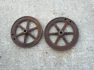 IHC Mogul 1 HP Cast Antique Hit And Miss Gas Engine Flywheels