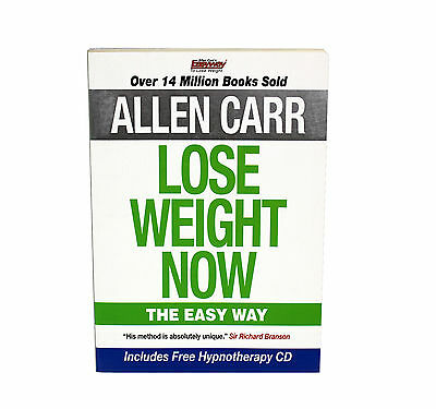 Lose Weight Now: The Easy Way By Allen Carr- New Paperback 9781848377202