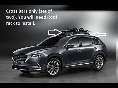 Mazda CX-9 Cross Bars (roof Rack Required not included) 2016  00008LN11