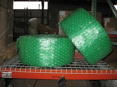 "Large 1/2"" Green Recycled Bubble, 12"" x 250' Per Order"
