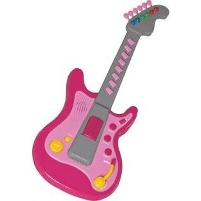 Chad Valley Electronic Toy Guitar - Pink. Free Delivery