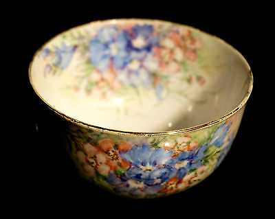 Beautiful Australian Pottery Artist Julie Boland Hand Painted Sugar Bowl