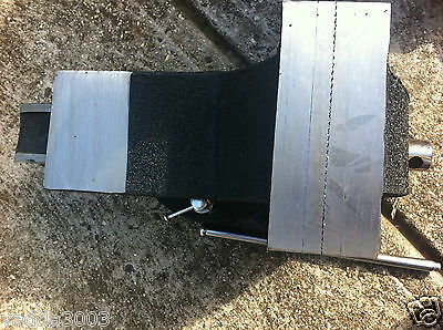 75 Mm Bench Vice All Steel Vice Extra Heavy With Replaceable Jaws