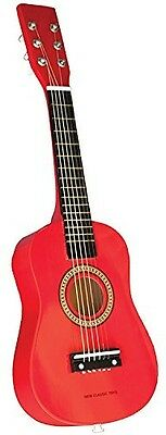 New Classic Toys Ref 0341 Guitar Red. Free Shipping