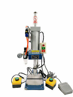 110V Pneumatic Punch Machine 50 Type Punch Machine + 2 Buttons Controller NEW