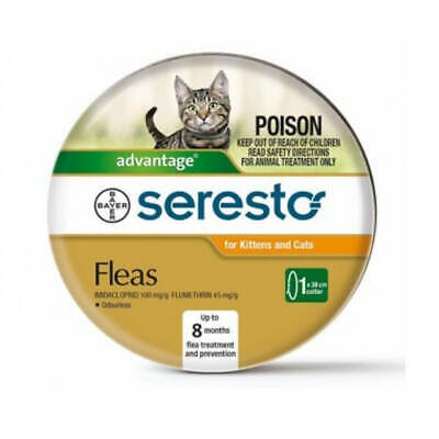 Seresto Flea Collar for cats and kittens