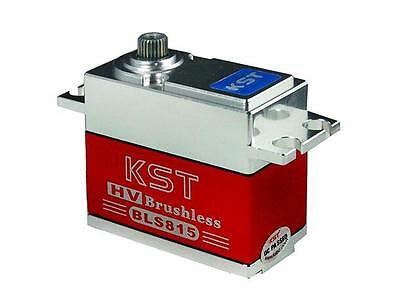 KST BLS815 Brushless High Voltage Metal Gear Servo 0.07sec 8.4V 20kg for 1/10 rc