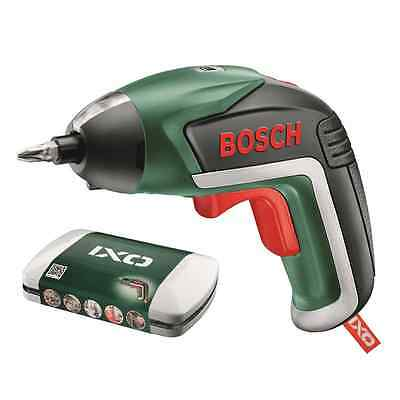 Bosch 3.6V IXO V Cordless Screwdriver Lithium-ion Battery 10 different bits
