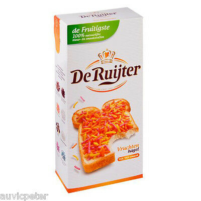 De Ruijter Fruit Sprinkles, Vruchten Hagel, Fruit Hail 400g