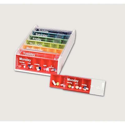 Patterson Medical Anabox Weekly Pill Box - Available in Various Colours